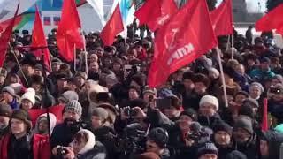 Грудинин в Ульяновске 13 марта 2018 1