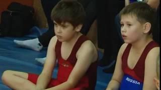 В Березовском прошли соревнования по вольной борьбе