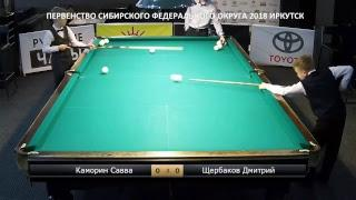 Щербаков - Коломиец. Первенство СФО 2018. Иркутск.