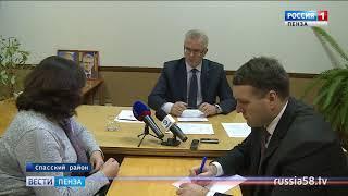 Жители Спасска попросили губернатора отремонтировать тротуар и купить «ГАЗель»