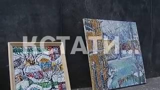 Живой символ искусства или торговцы-нелегалы - уличных художников выгоняют с Большой Покровской