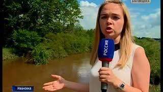 В Ивановке затопило огороды и подполья