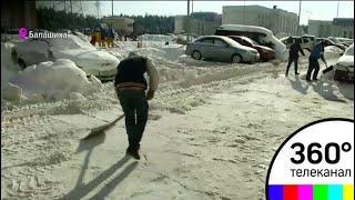 Больше 200 штрафов за плохую уборку снега