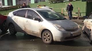 Дерзкий маневр водителя спровоцировал ДТП на Харьковской