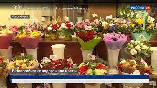 Перед романтическими праздниками в Новосибирске подорожали цветы