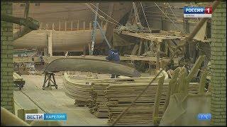 В Петрозаводске построят деревянную историческую шхуну