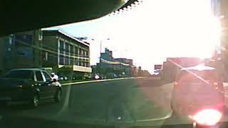 Иномарка перевернулась в Воронеже