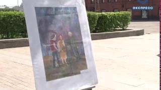 Воспитанники художественных школ Пензы нарисовали 100 картин о Победе