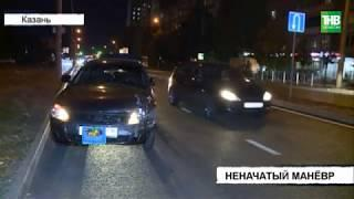 На улице Ломжинская столкнулись Лада Гранта и Опель Вектра | ТНВ