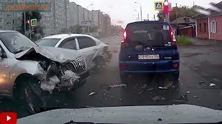 Дураки и дороги Подборка ДТП 2018 Сборник безумных водителей #196