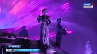 Светомузыкальный фонтан в Ставрополе открыт