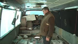 В Хабаровске бездомные зимуют в списанных автобусах октябрь 2018