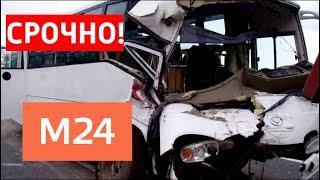 Страшное ДТП в Подмосковье: 15 детей пострадали, есть погибшие - Москва 24