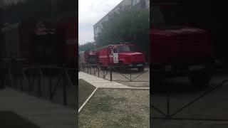 Пожар в Михайловске