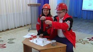 В Покачах дошкольникам рассказали о свойствах нефти