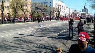 бессмертный полк прошёл по Хабаровску 9 мая 2018