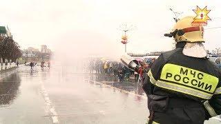 В Чебоксарах прошел день безопасности.