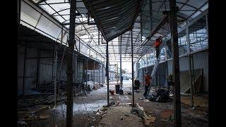 Рабочие приступили к сносу части Центрального рынка Калининграда