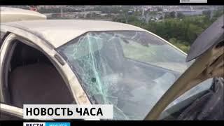 Из за ДТП на плотине ГЭС в Иркутске образовалась трёхкилометровая пробка