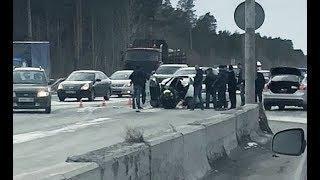 ДТП с пострадавшими на перекрестке с Белым Яром. Сургут.