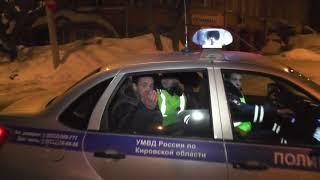 Пьяный бесправник на Рено ул  Володарского  Место происшествия 20 03 2018