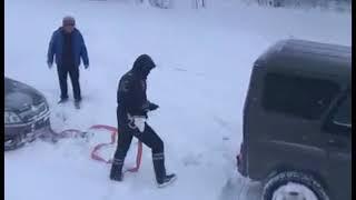 Ставропольские полицейские вытащили из снежного плена 50 водителей