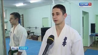 Брянский каратист - серебряный призёр первенства Европы