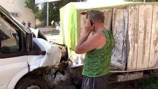 Авария на ул. Мясницкая