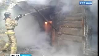 Деревянный центр Иркутска снова в огне  На улице Марата горел дом