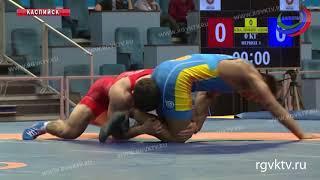В Каспийске завершился международный турнир по вольной борьбе памяти Али Алиева