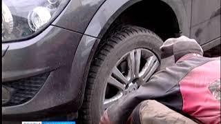 Дорожные полицейские рекомендуют красноярцам менять летние шины на зимние