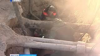 Жители города Светлого на сутки остались без воды