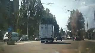 ДТП в Запорожье на ул. Космической (5.05.18)