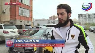 """""""Ситромонстр"""". В Дагестане народные умельцы собрали гоночный автомобиль буквально на коленке"""