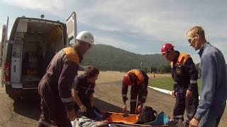 Иркутский турист сорвался с горы в Бурятии