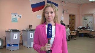 Корреспондент «Вестей» с избирательного участка в  школе №35