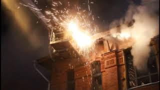 Пожар в «доме афганцев» в Барнауле  6 февраля 2018