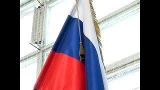 Эстафета российского флага завершилась в Марий Эл в День защитника Отечества