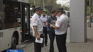 В Ростове на проспекте Стачки маршрутка влетела в автобус, есть пострадавшие