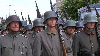 Реконструкторы отметили битву при Вердене