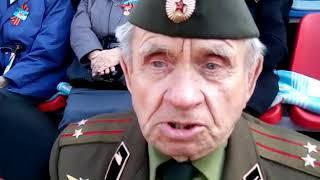 Ветераны на параде в Хабаровске-2
