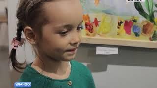 Выставка детского рисунка студии Елены Кривошеевой