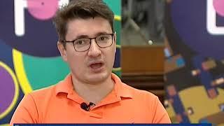 Вести. Интервью: гость программы - главный режиссер Красноярского театра музкомедии Николай Покотыло