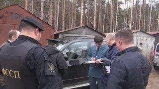 UTV. С начала недели в Башкирии арестовано 20 автомобилей неплательщиков налогов