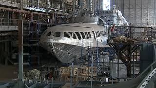 В Севастополе запустили регулярные рейсы пассажирского судна «Комета»