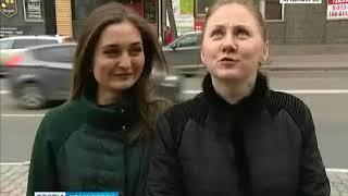 Красноярцы обеспокоены аварийными фасадами домов сталинской эпохи