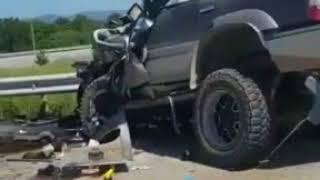 Видео: жуткие последствия ДТП в Приморье, где столкнулись джип и автобус
