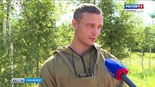 Демидовский пожарный представит Смоленщину на всероссийском конкурсе