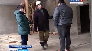 Темпы строительства школ в поселках Савино и Каминский отстают от графика