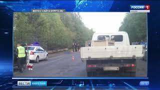 Под Петрозаводском погиб дорожный рабочий